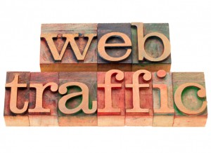 web traffic and personalisation