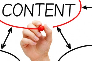 how does content marketing fit in with print